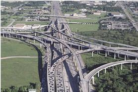 US 290 - Sam Houston Tollway Interchange